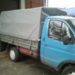 Стандартный тент на грузовик Газель