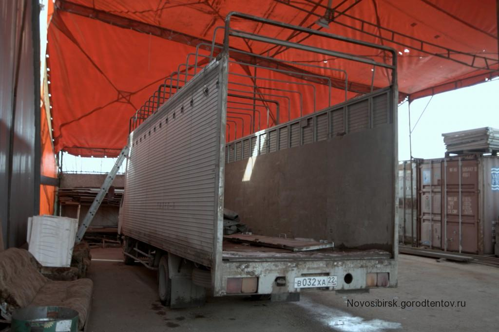 Тент, каркас и ворота на Mazda Titan