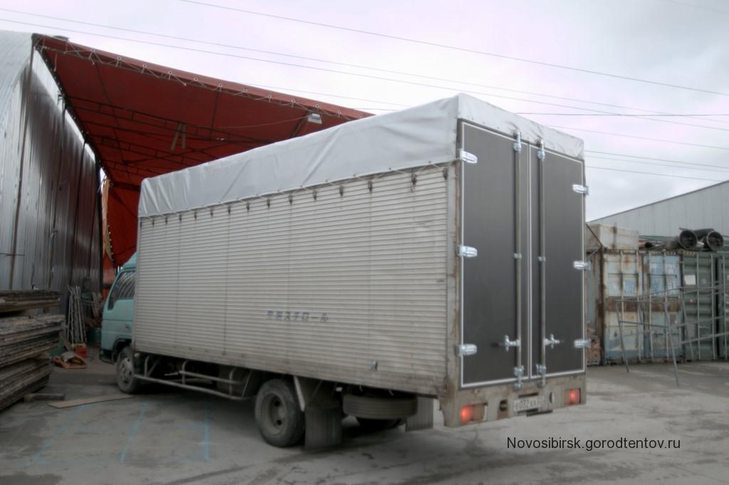 Тент и ворота на Mazda Titan