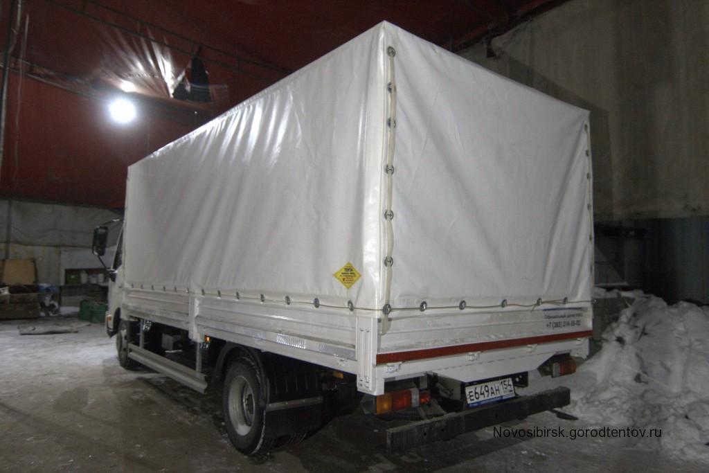 Изготовление тента на грузовик Hino 300