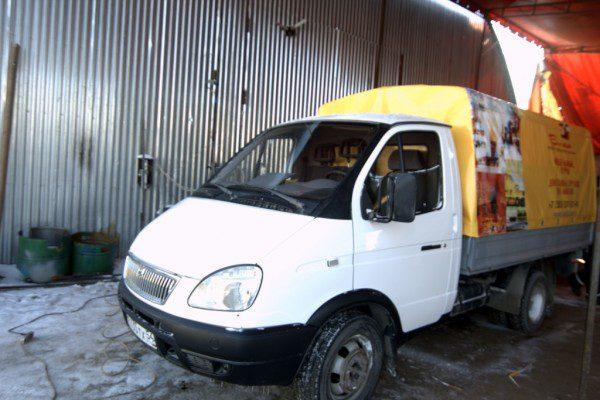 Реклама на грузовом транспорте в Новосибирске