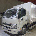 Тент на грузовик HIno 300