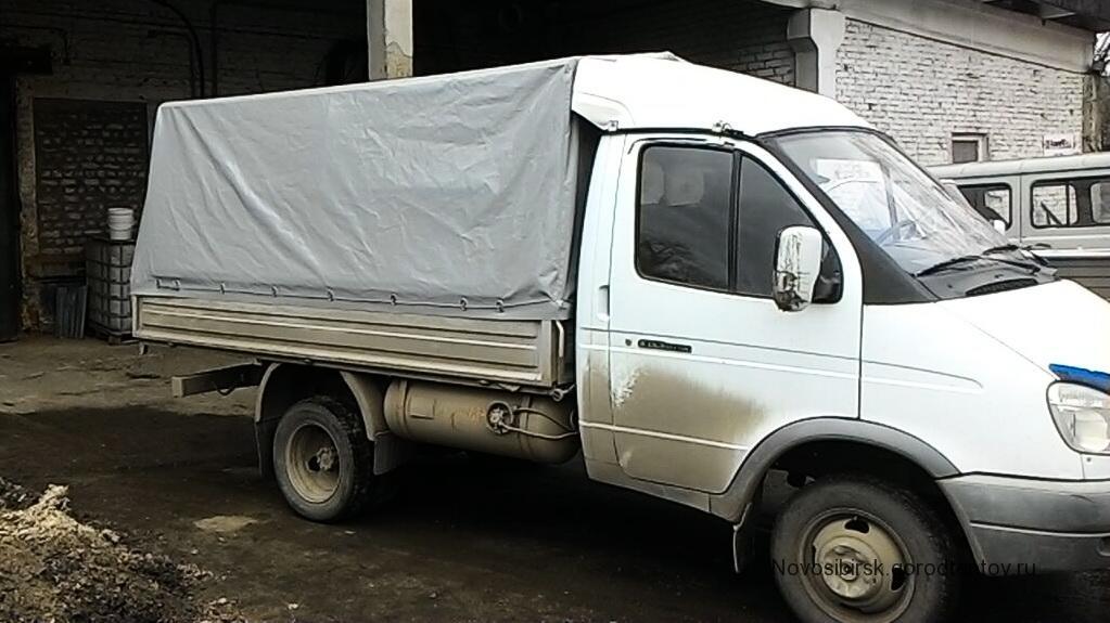 Тент из импортной ткани ПВХ для грузовика «Газель»