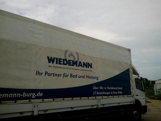 Увеличение высоты тента грузовика Mercedes