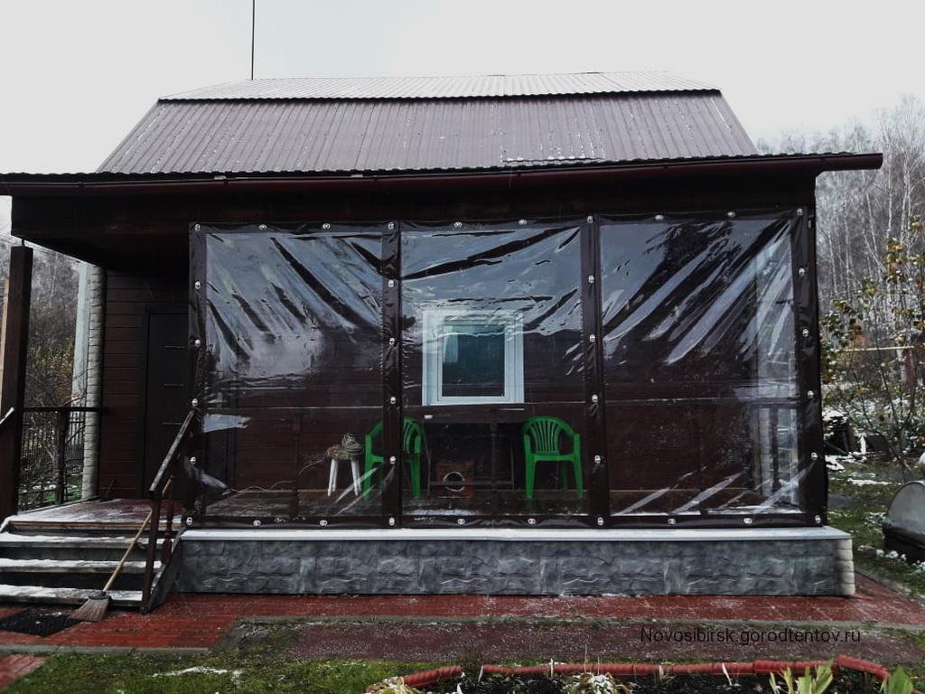 Мягкие окна на веранду 4,5х2,5 м