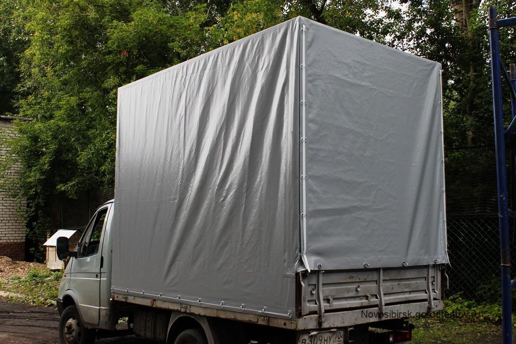 Высокий прямоугольный тент на «Газель» 4 метра